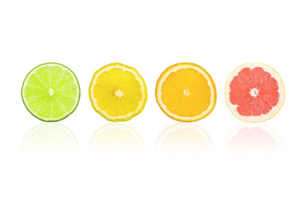 Test créativité culinaire agrumes couleurs