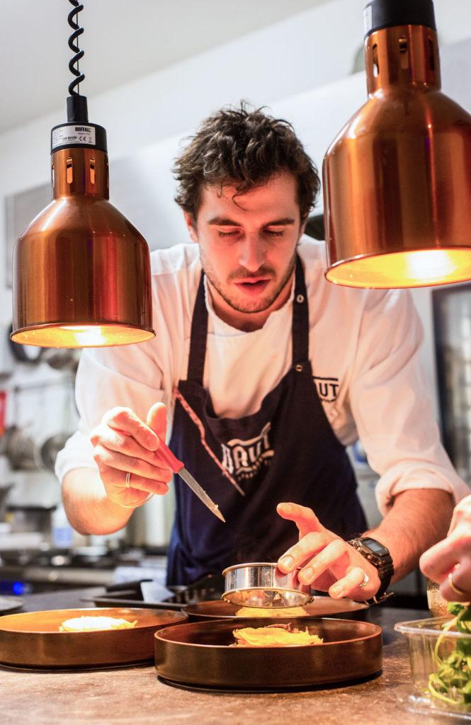 technique culinaire de chef