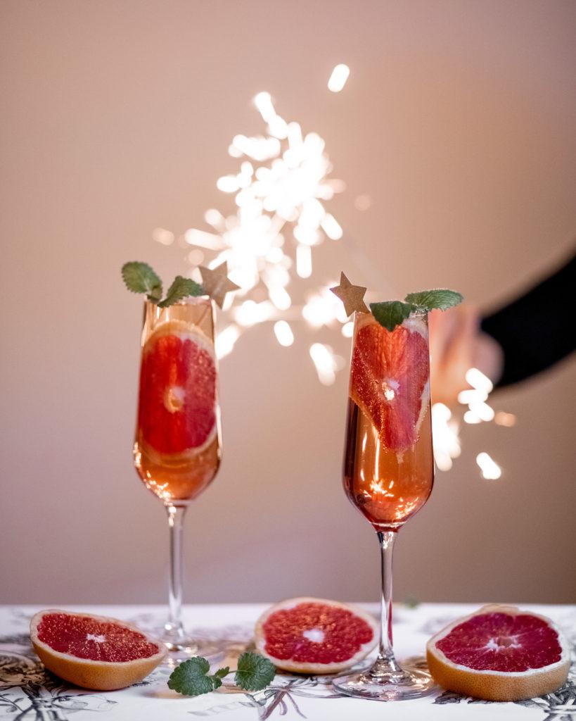 champagne pour les occasions festives