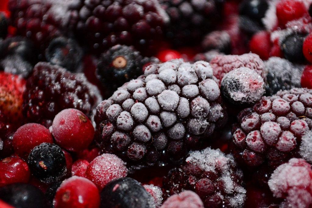 fruits rouges surgelés