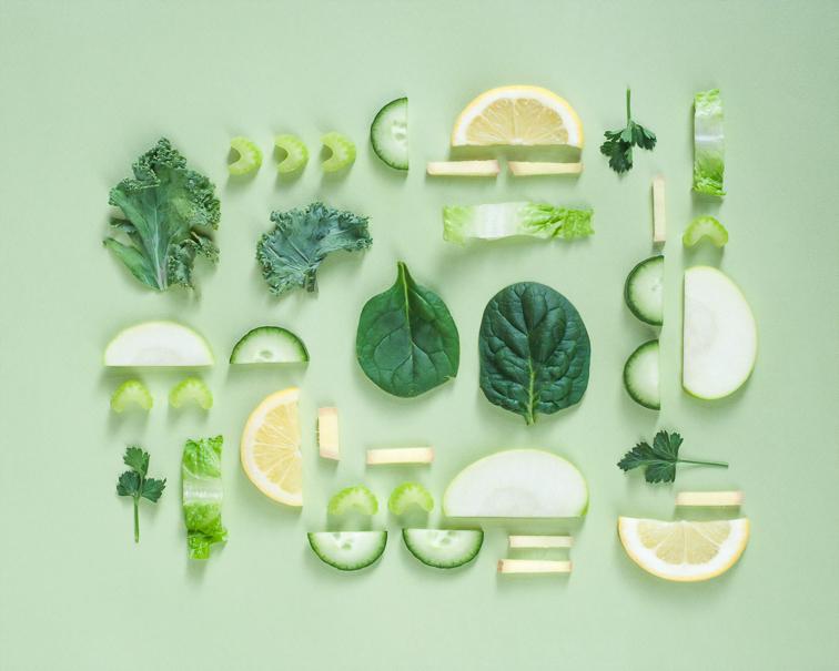 légumes verts santé