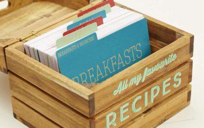 Créer son carnet de recettes personnalisé : papier ou digital ?