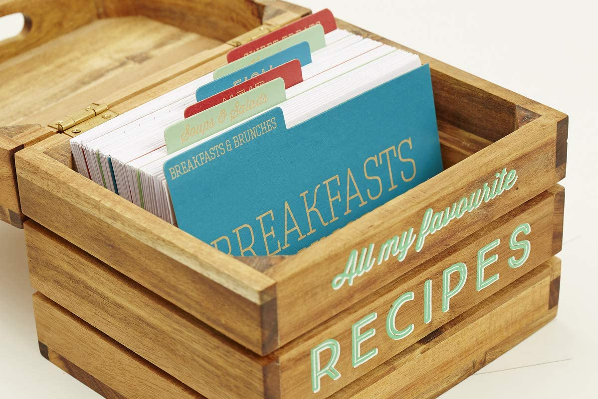 boite à fiches recette